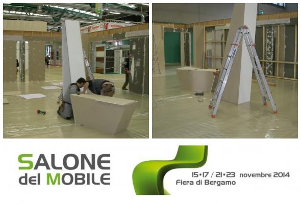 Allestimento salone del mobile 2014 for Salone del mobile orari